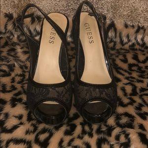Guess heels, worn twice